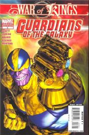 Guardians Of The Galaxy #8 Villain Variant (2008) Marvel comic book